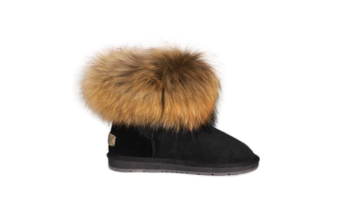 Sheepskin Rocco Black Boot