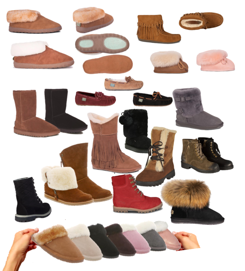 Sheepskin footwear collection - 800x865